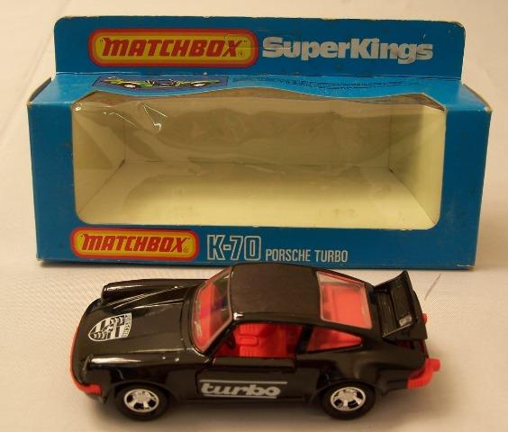 Matchbox K70 Porsche Turbo Free Price Guide Review