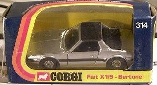 Picture Gallery for Corgi 314 Fiat X1/9