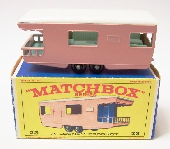 Picture Gallery for Matchbox 23d Trailer Caravan