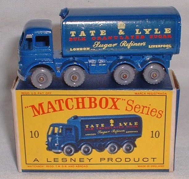 Picture Gallery for Matchbox 10c Foden 8 Wheel Truck