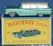 Matchbox Regular Wheel 31A Ford Station Wagon GPW 1957
