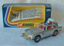 Corgi 270 James Bond Aston Martin Free Price Guide Review