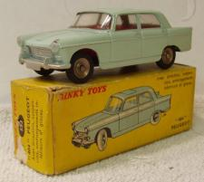 Picture Gallery for Dinky 553 Peugeot 404