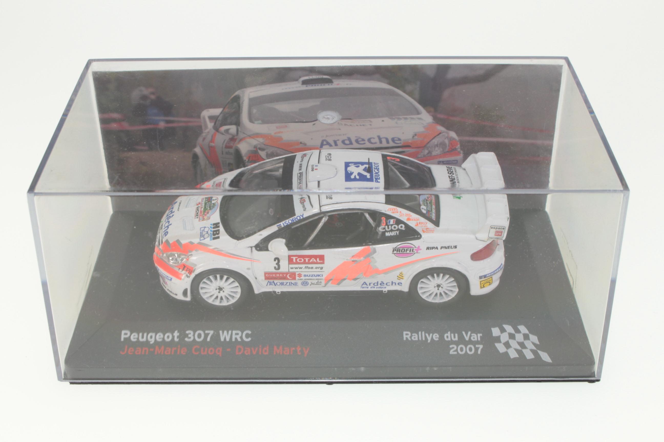 Subaru Impreza WRC Rally Tour de Corse 2003 petter solberg 1:18 Ixo Altaya
