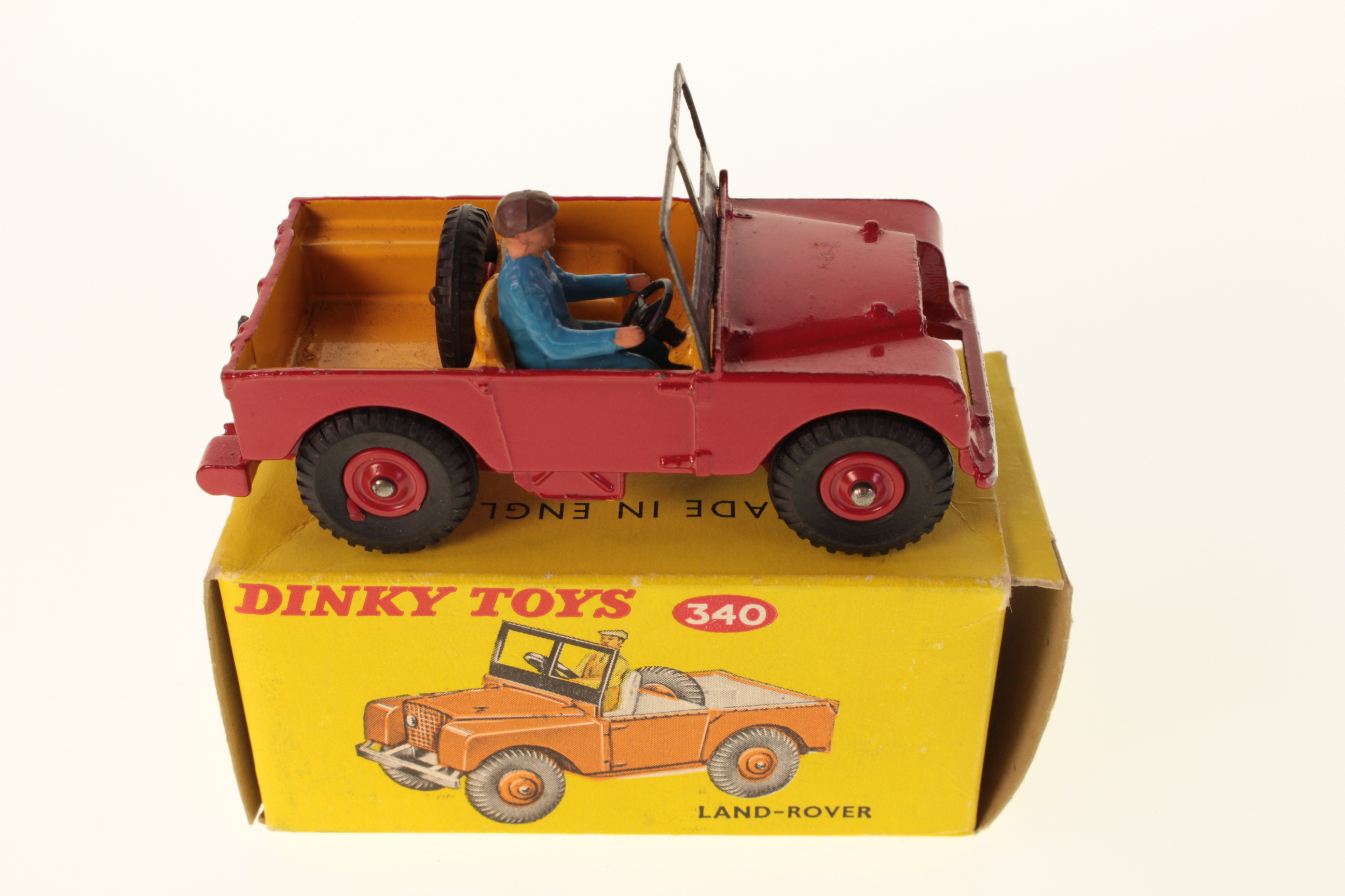 Picture Gallery for Dinky 340 Land Rover