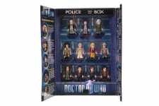 Picture Gallery for Character Options 03909 Eleven Doctors Micro Figure Set