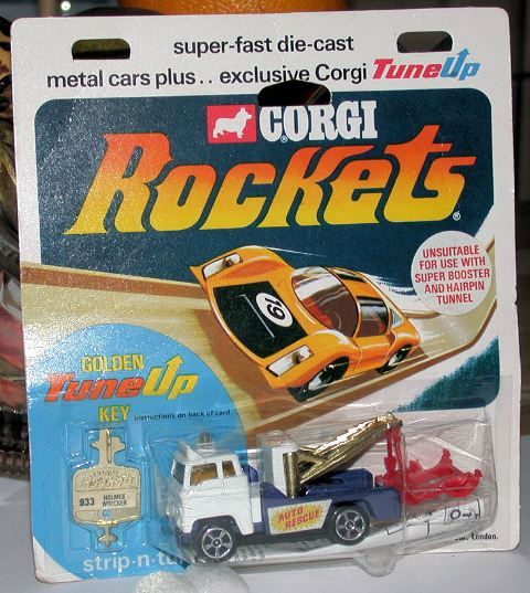 Picture Gallery for Corgi Rockets 933 Ford Holmes Wrecker