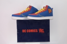 Picture Gallery for Smith and Brooks 18290 Superman Hi Top Shoes