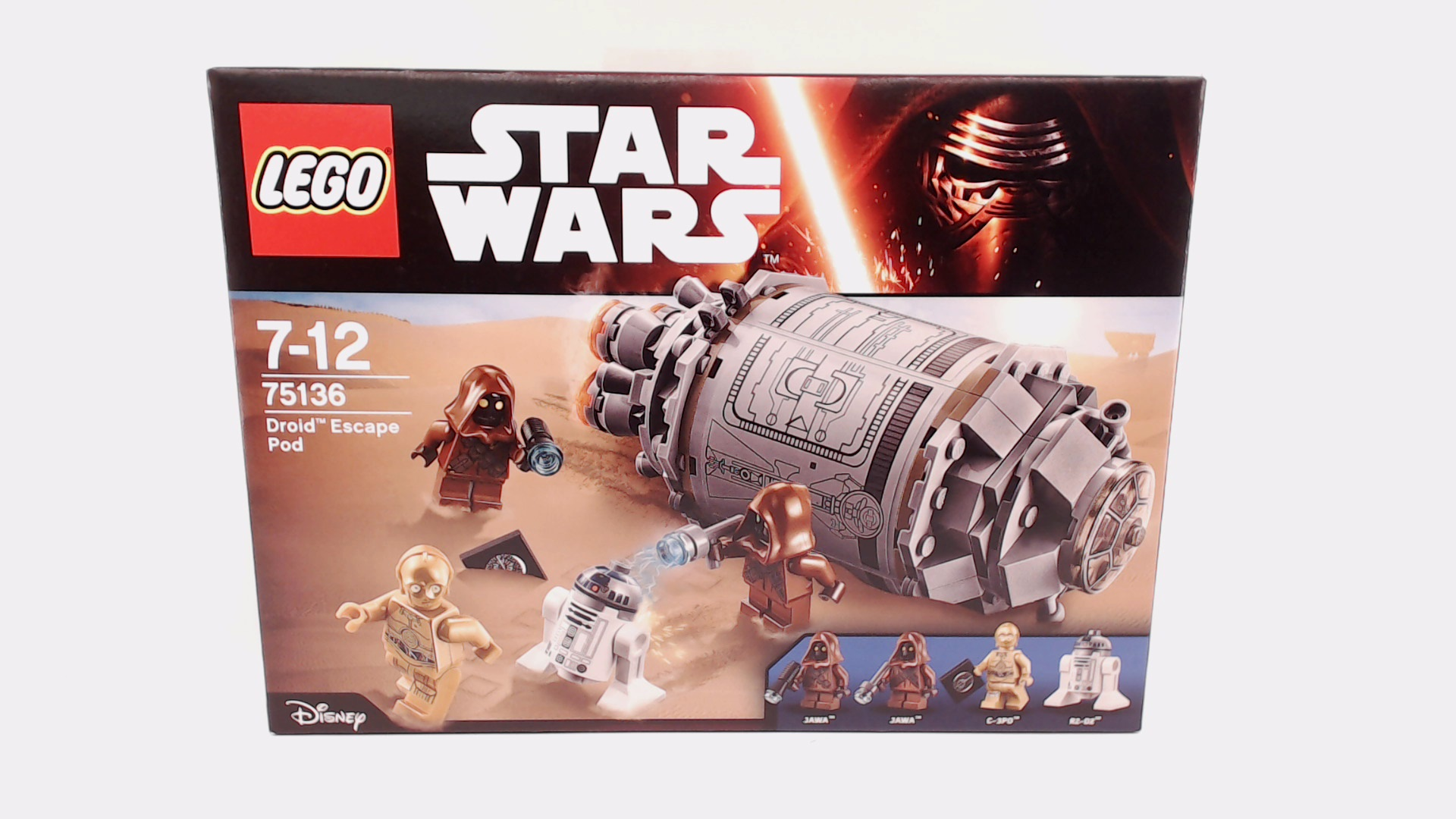 Picture Gallery for Lego 75136 Droid Escape Pod
