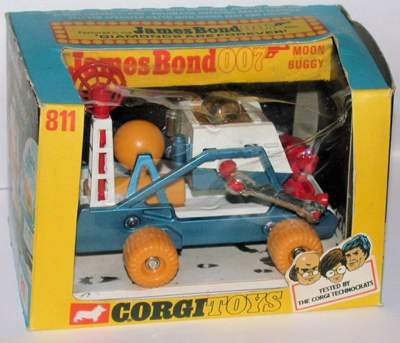 Picture Gallery for Corgi 811 Moon Buggy