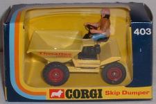Picture Gallery for Corgi 403 Skip Dumper