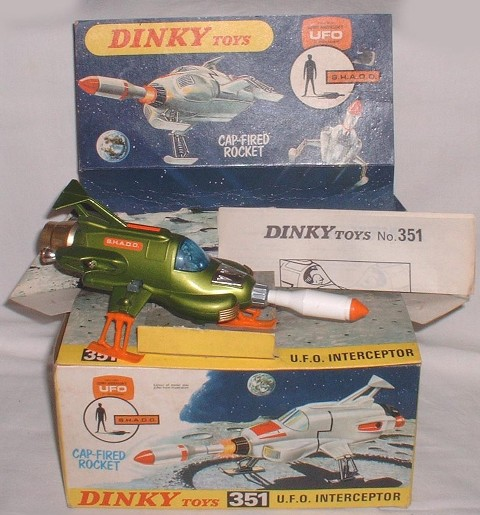 Choose from List Dinky 351 SHADO UFO Interceptor Reproduction Parts