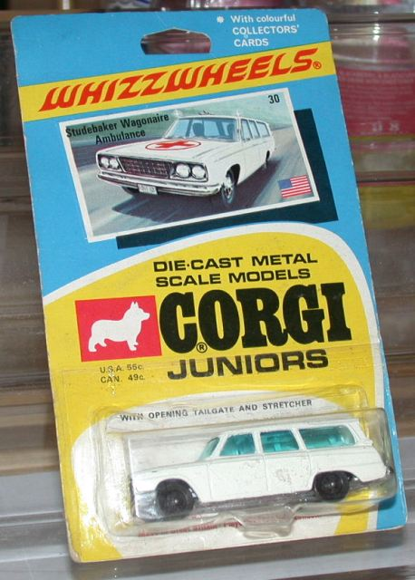Picture Gallery for Corgi Juniors 30 Studebaker Ambulance