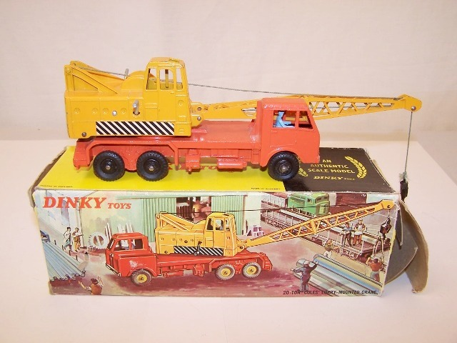 Picture Gallery for Dinky 972 Coles 20 Ton Lorry Mounted Crane