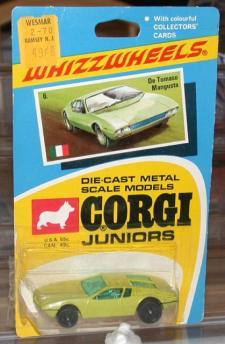 Picture Gallery for Corgi Juniors 6 De Tomaso Mangusta