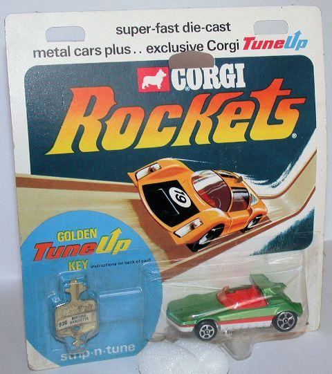 Picture Gallery for Corgi Rockets 930 Bertone Barchetta