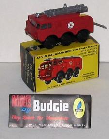 Picture Gallery for Budgie 298 Alvis Salamander Crash Tender