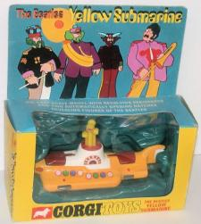 Picture Gallery for Corgi 803 Yellow Submarine