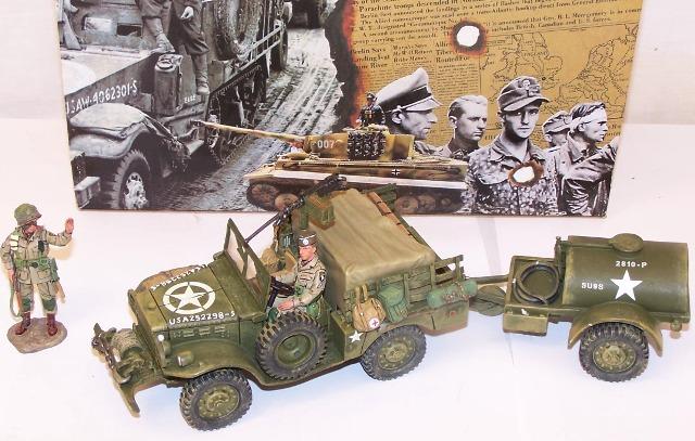 28mm 1//56 3D printed US Dodge 3//4 ton WC51 weapons carrier suitable Bolt Action