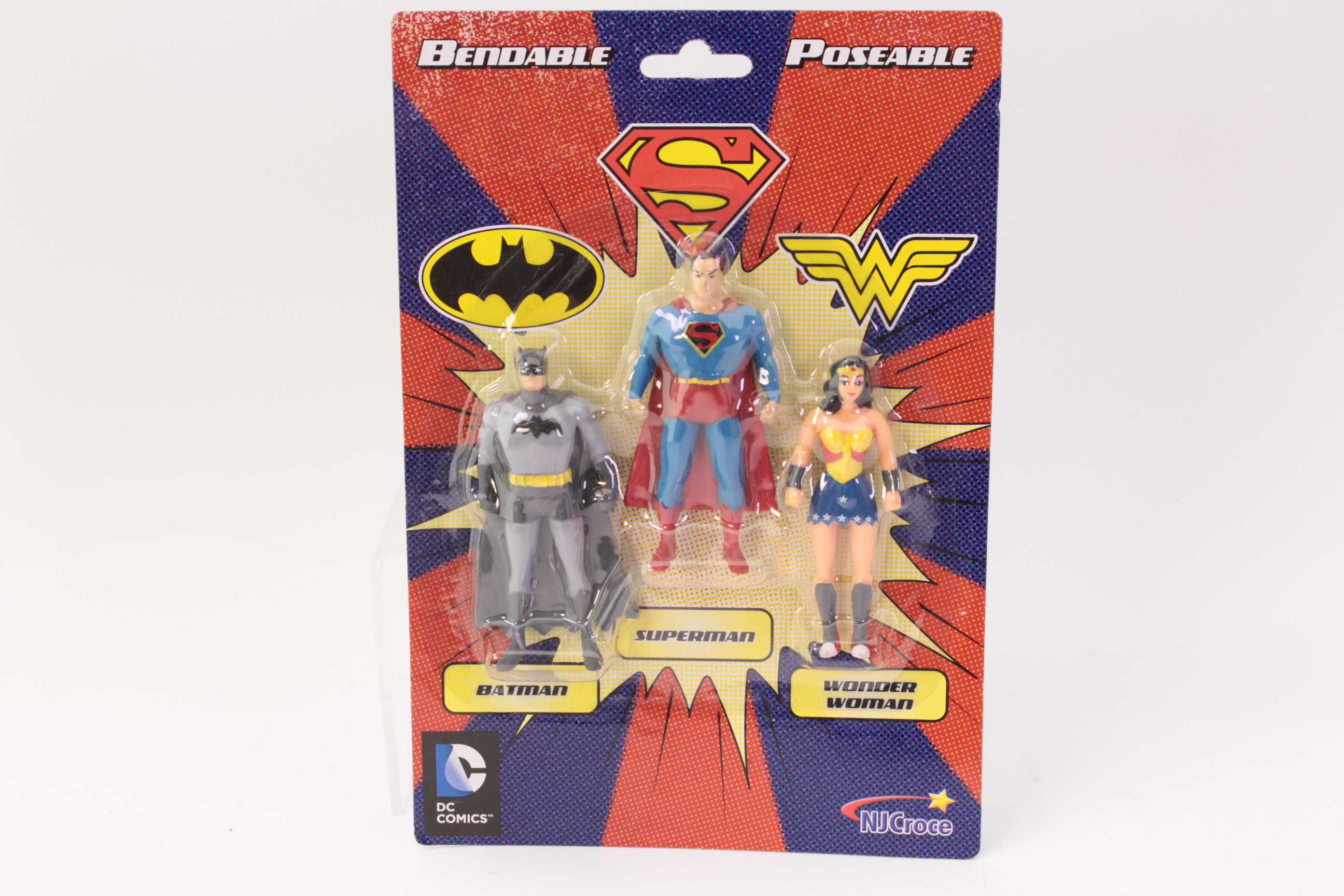 Picture Gallery for NJ Croce DC3909 Superheroes Mini Pack X 3