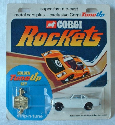 Picture Gallery for Corgi Rockets 905 The Saints Volvo P1800