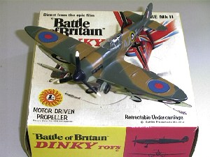 Picture Gallery for Dinky 719 Spitfire MkII With Motor
