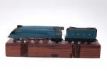 Locomotive and Tender - Mallard