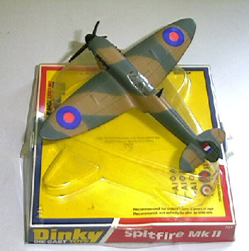 Picture Gallery for Dinky 741 Spitfire MkII