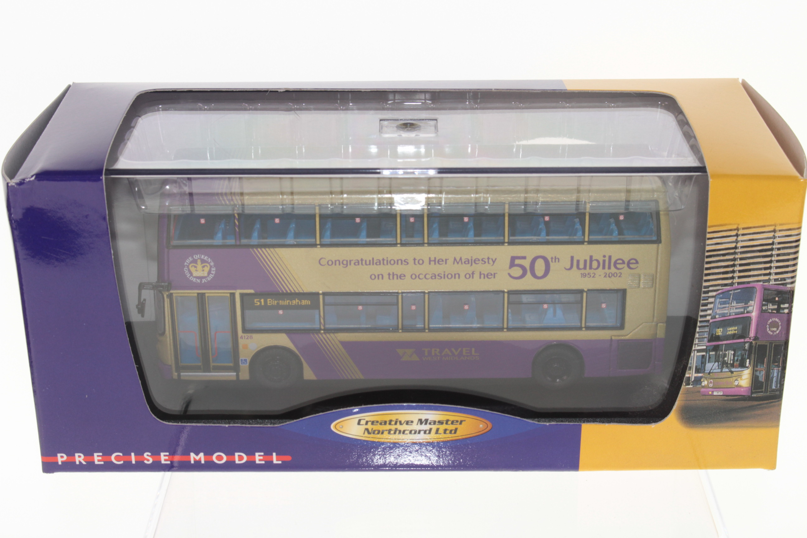 Picture Gallery for Creative Master UKBUS1005 Dennis Trident