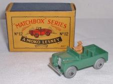 Picture Gallery for Matchbox 12a Land Rover