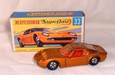 Picture Gallery for Matchbox 33c Lamborghini Miura