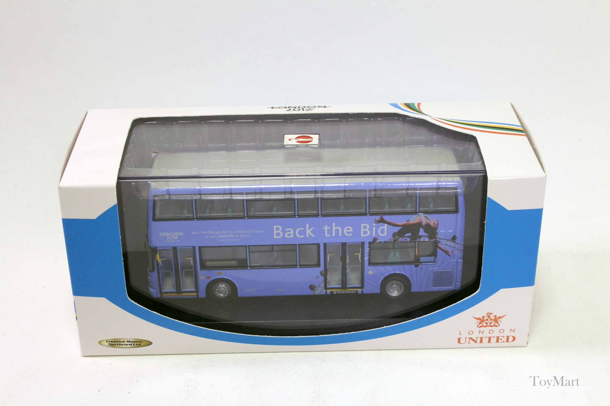 Picture Gallery for Creative Master UKBUS1020 Dennis Transbus Trident