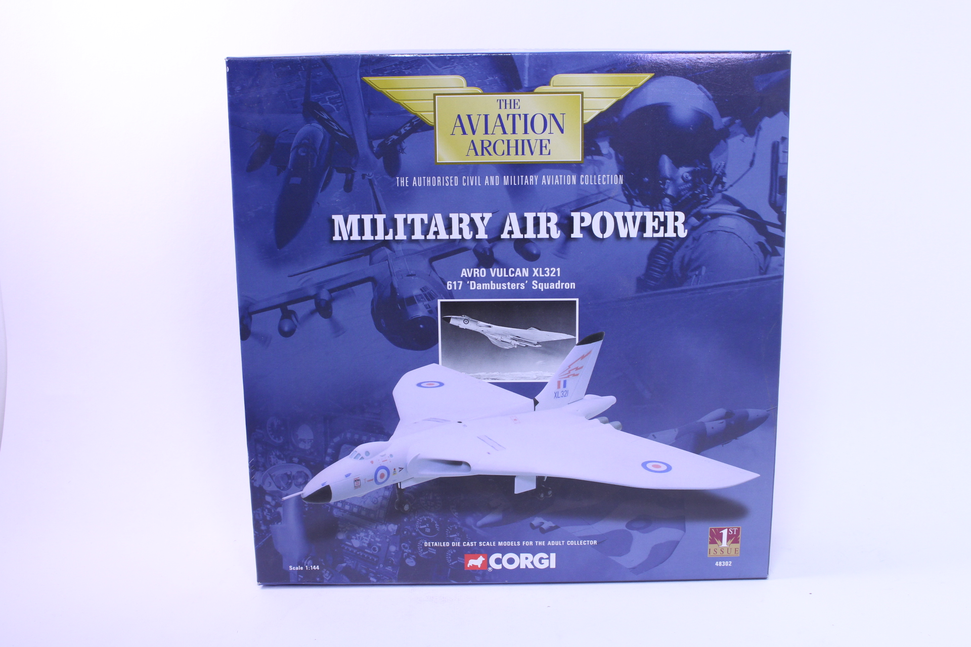 Picture Gallery for Corgi 48302 Avro Vulcan XL321