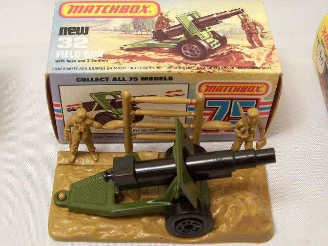 Picture Gallery for Matchbox 32e Field Gun and Diorama