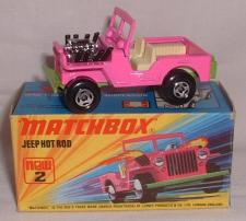 Picture Gallery for Matchbox 2e Jeep Hot Rod