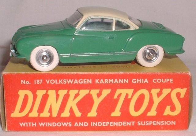 Dinky Toys boîte repro 24 M volkswagen karmann ghia