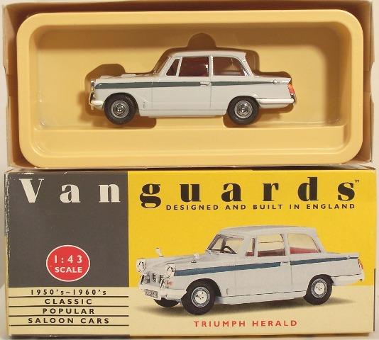 Picture Gallery for Vanguards VA5005 Triumph Herald