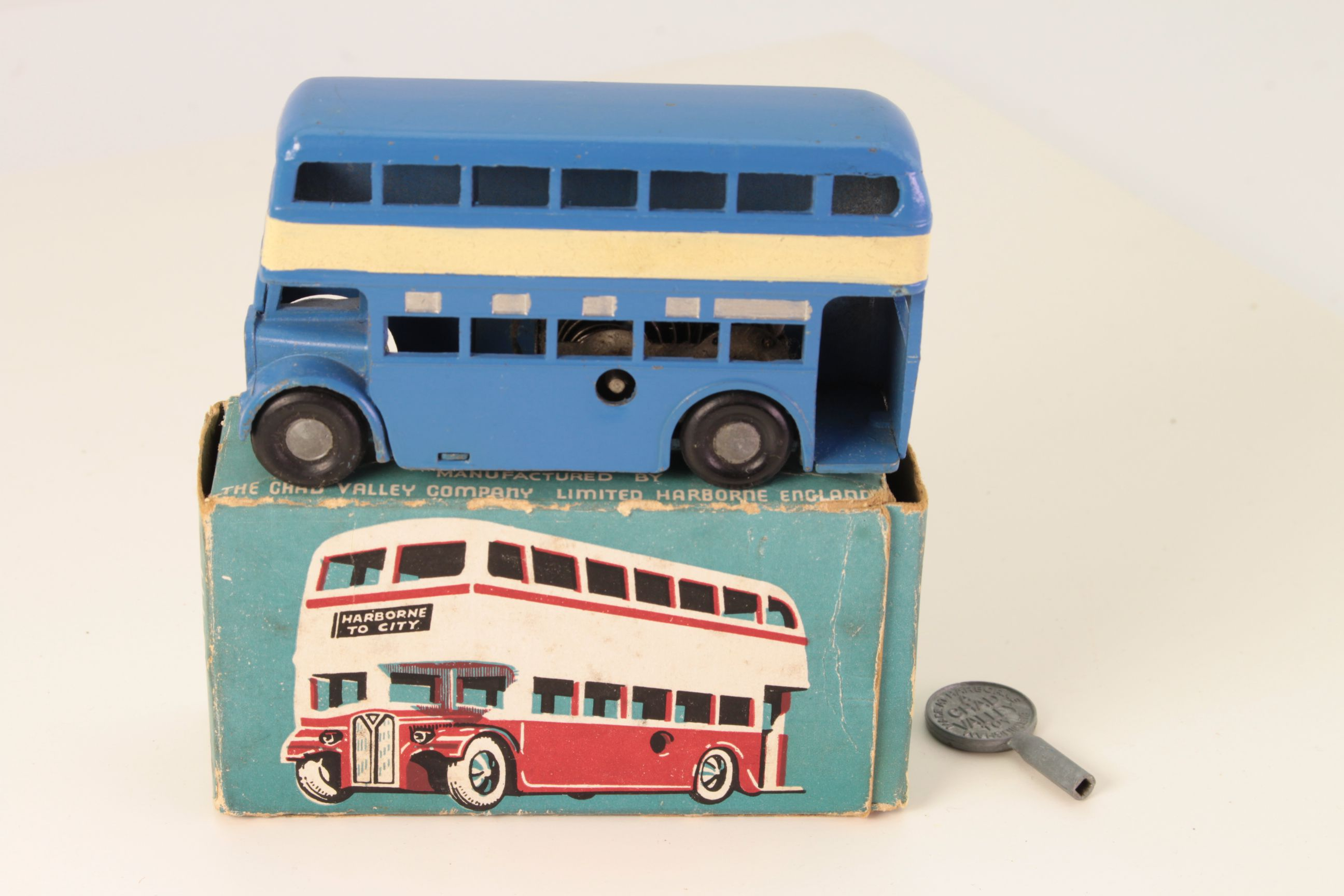 Picture Gallery for Chad Valley CVW001 Double Decker Bus
