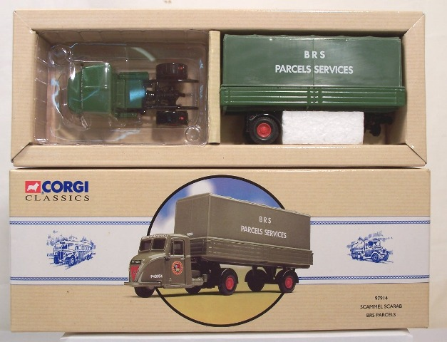 Picture Gallery for Corgi 97914 Scammell Scarab