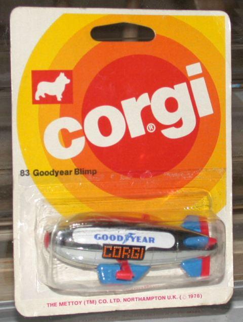 Picture Gallery for Corgi Juniors 83 Goodyear Blimp