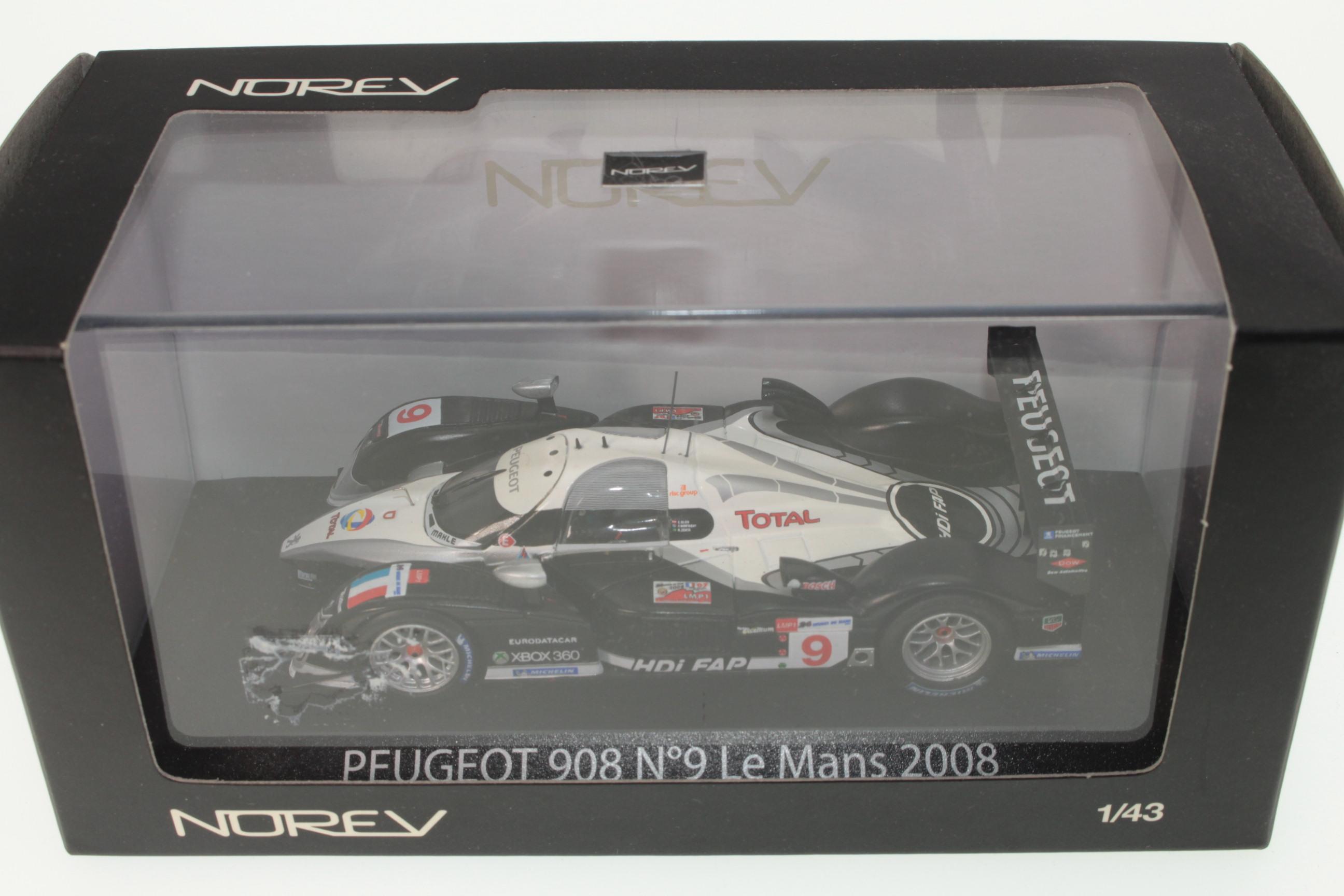 norev 472724 peugeot 908 le mans 2008 buy it now toymart shop. Black Bedroom Furniture Sets. Home Design Ideas