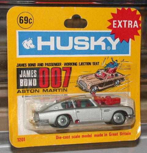 Picture Gallery for Husky 1201 James Bond Aston Martin