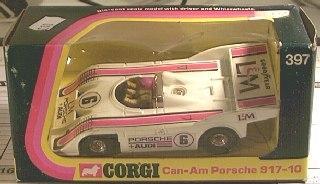 Picture Gallery for Corgi 397 Porsche can am Audi
