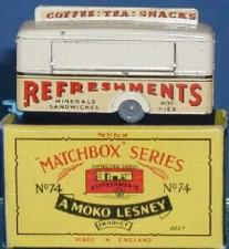 Matchbox Mobile Refreshment Canteen Stickers       MB-74A