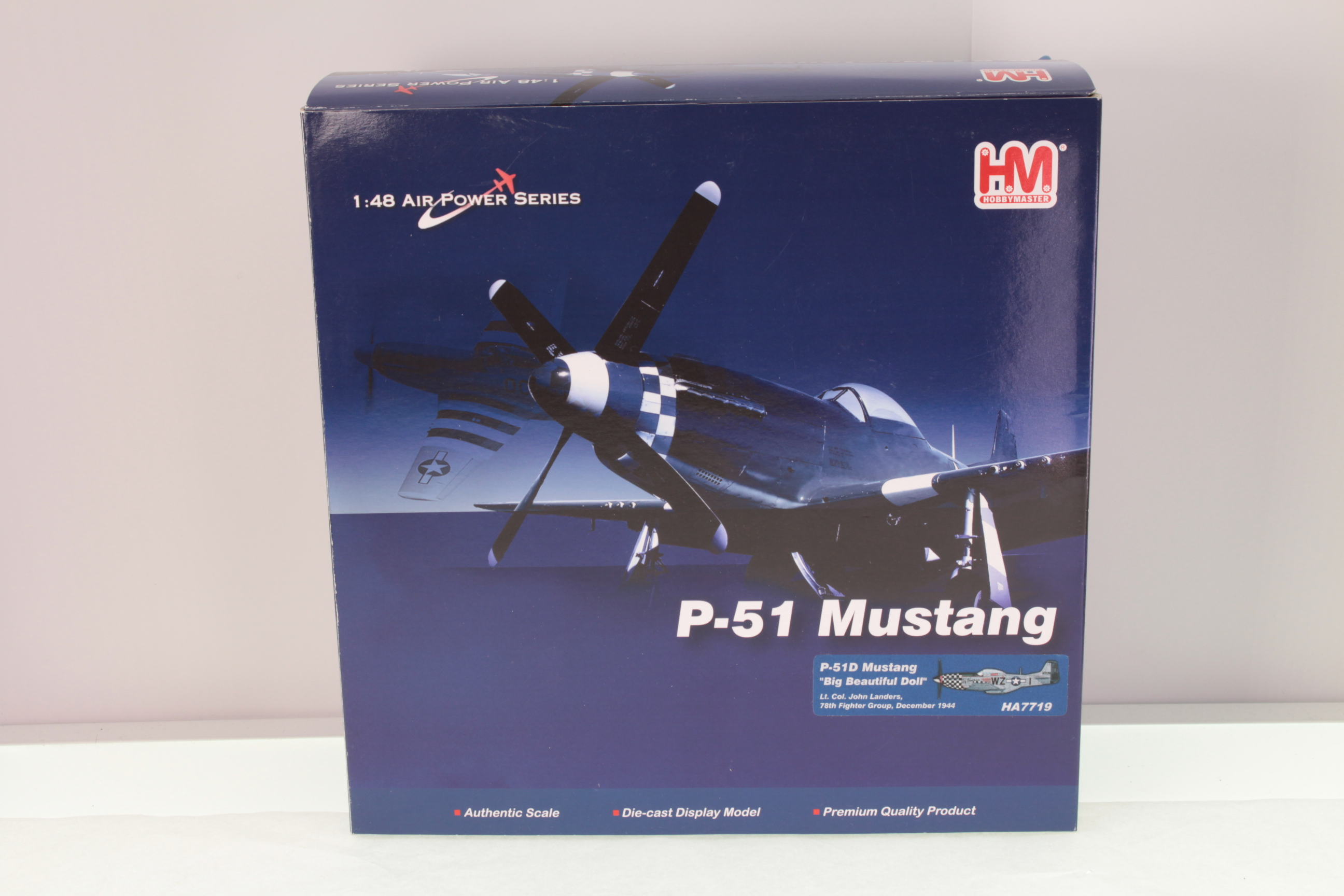 Picture Gallery for Hobby Master HA7719 P-51D Mustang