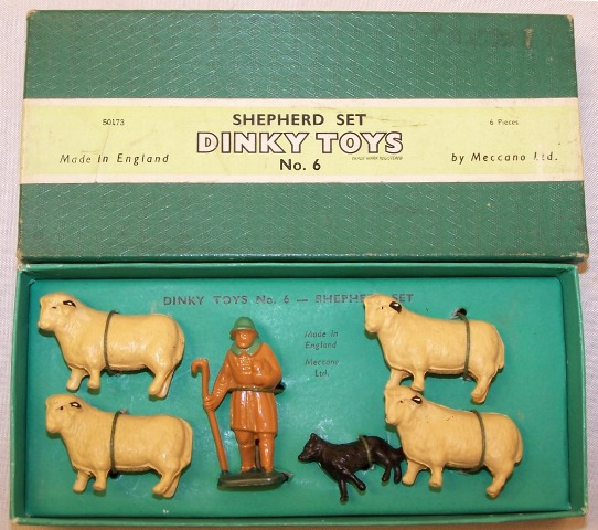 Picture Gallery for Dinky 6 Shepherd Set