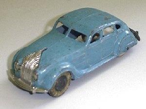 Dinky 30a, Chrysler Airflow - Free Price Guide & Review