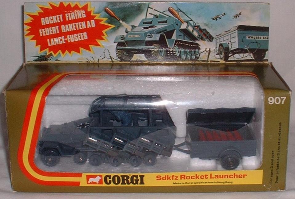 Corgi 907, German Rocket Launcher - Buy, Sell, Review & Free Price ...
