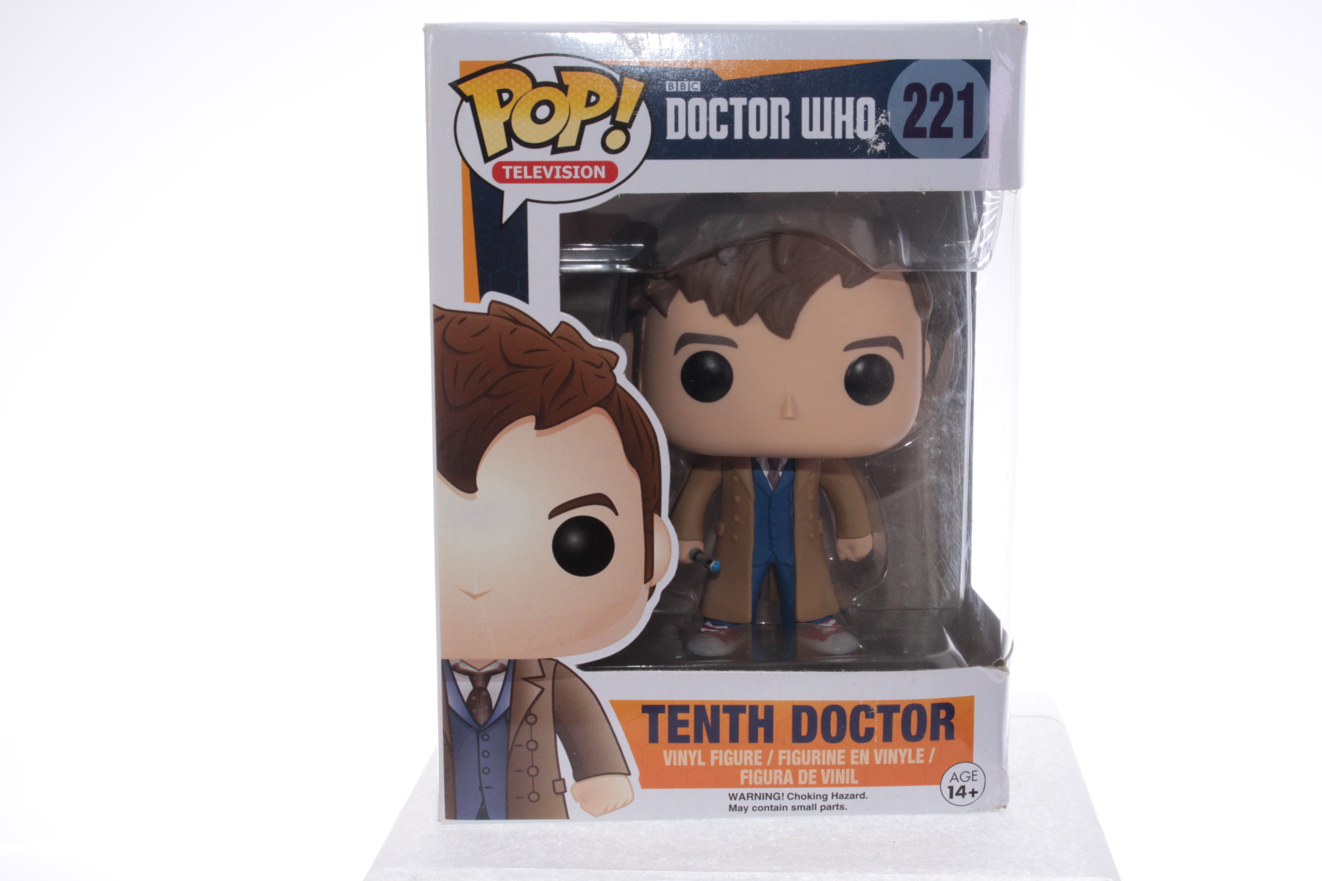 RARE FUNKO POP #234 DOCTOR WHO TENTH DOCTOR NEW YORK COMIC CON LIMITED EDITION