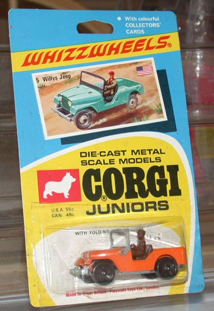 Picture Gallery for Corgi Juniors 5 Willys Jeep